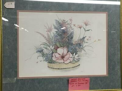 Framed Art - Flower Arrangement