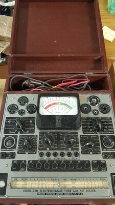 Vacuum Tube and Set Tester, Series 920 Electronamic by Precision Apparatus