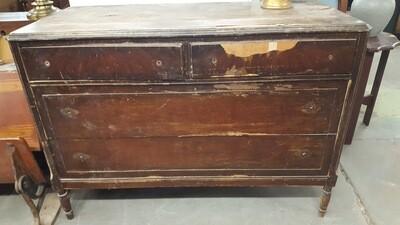 Antique Dresser - DIY project for bathroom vanity?
