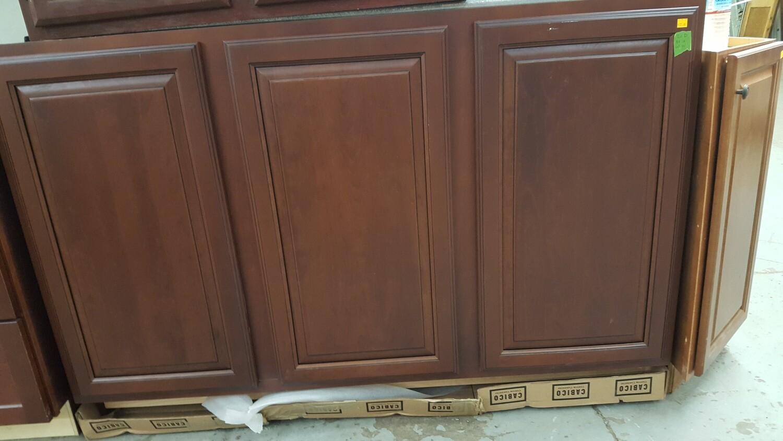 """Kitchen Base Cabinet, brown, 60""""x21""""x34.5"""""""