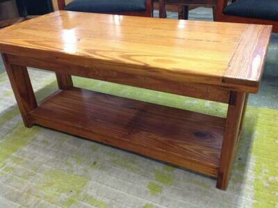 'This end up' style coffee table