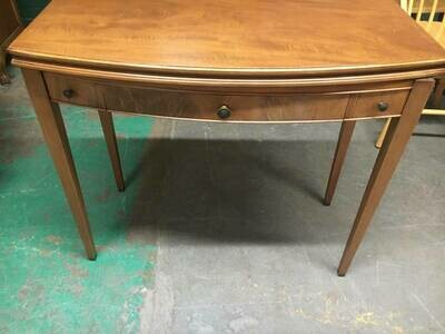 Vintage Mahogany Side Table with expandable top
