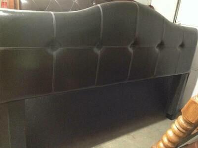 King Bed frame - padded