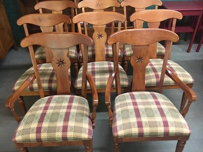 Ethan Allen Country Crossings Chairs, 8