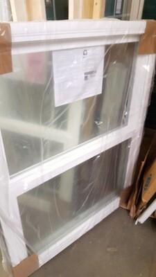 New Window, 37 1/2 x 45 1/2 (WA-007) white