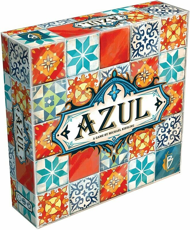 (NEW) Azul Board Game (A Game By Michael Kiesling)