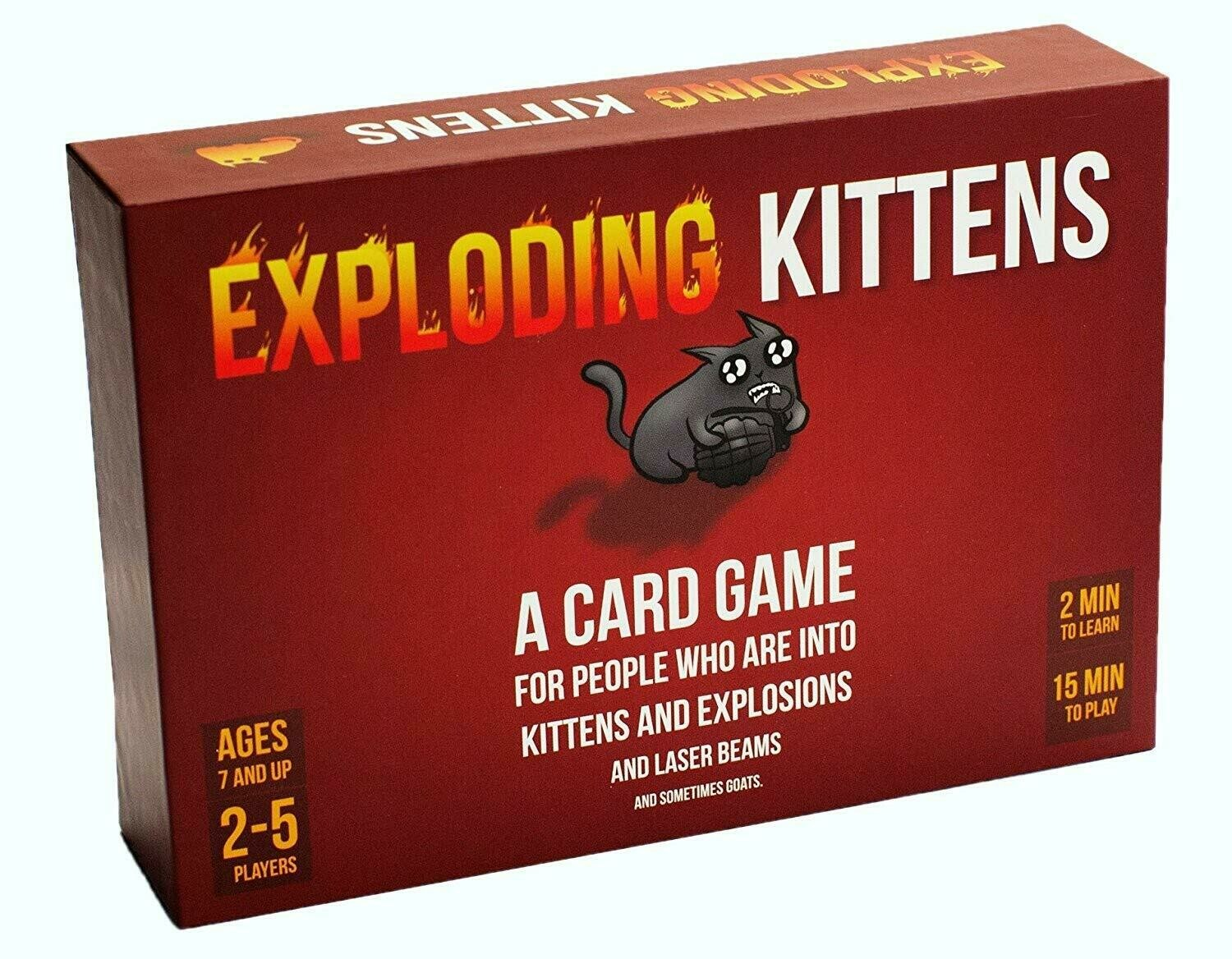 (NEW) Exploding Kittens Card Game (Original Edition)