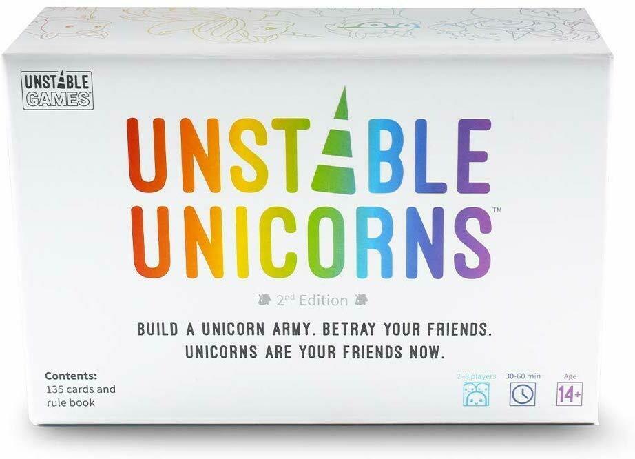 (NEW) Unstable Unicorns Base Game