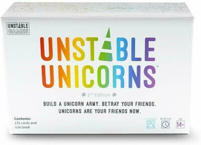 (NEW) Unstable Unicorns Base Game