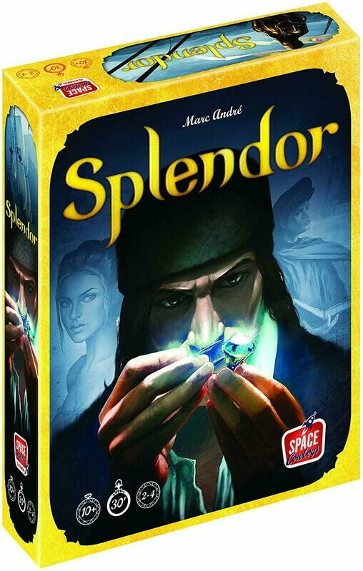 (NEW) Splendor Board Game (A Game By Marc Andre)