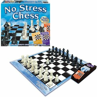(NEW) Winning Moves Games No Stress Chess