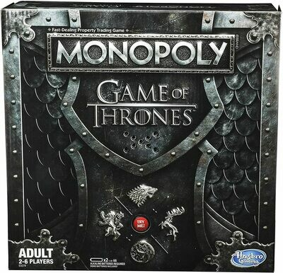 (NEW) Monopoly: Game Of Thrones Board Game For Adults