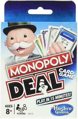(NEW) Hasbro Gaming Monopoly Deal Card Game