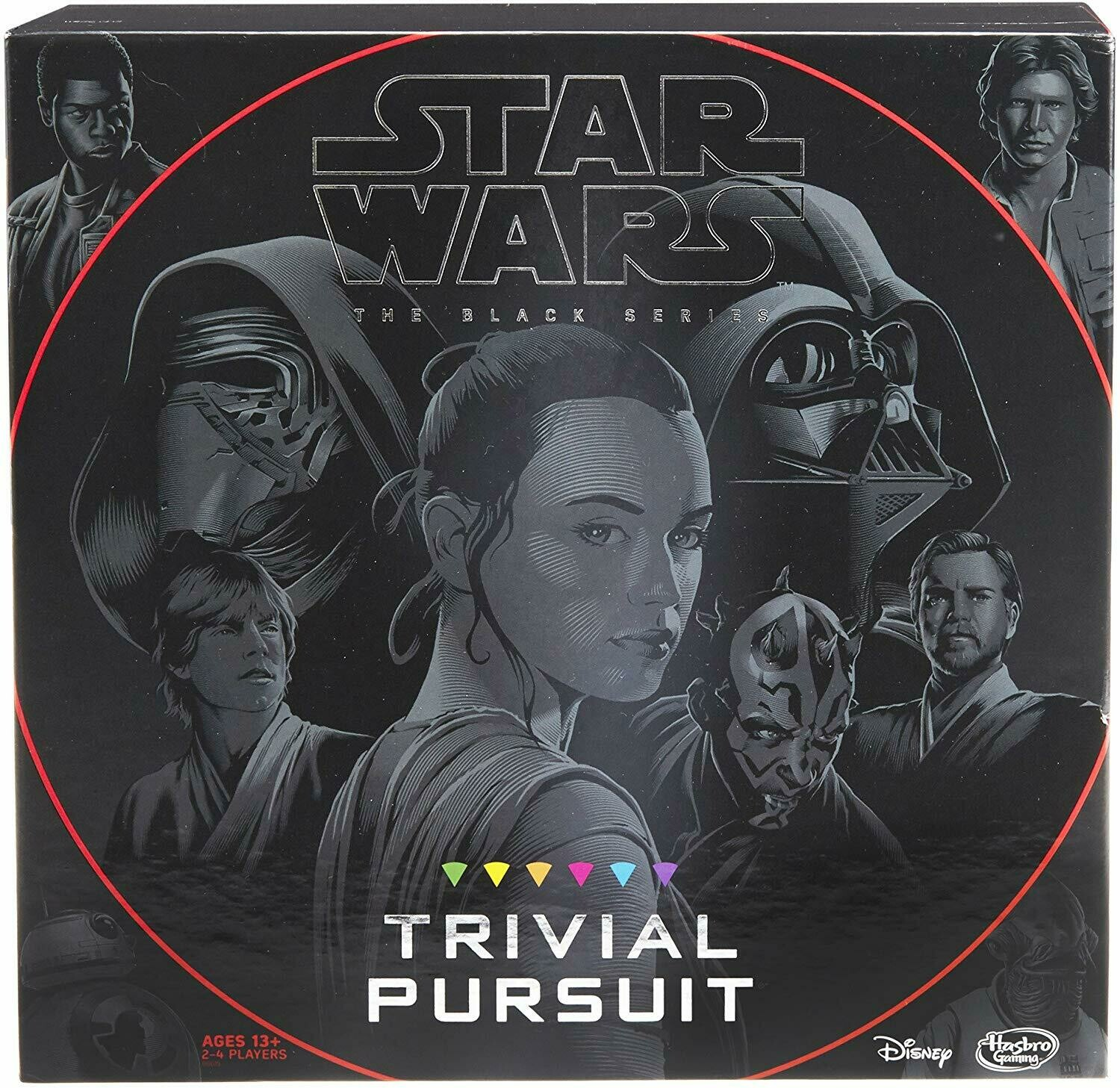 (NEW) Hasbro Trivial Pursuit: Star Wars The Black Series Edition