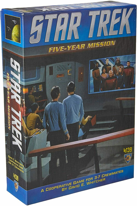 (NEW) Star Trek: Five Year Mission Board Game