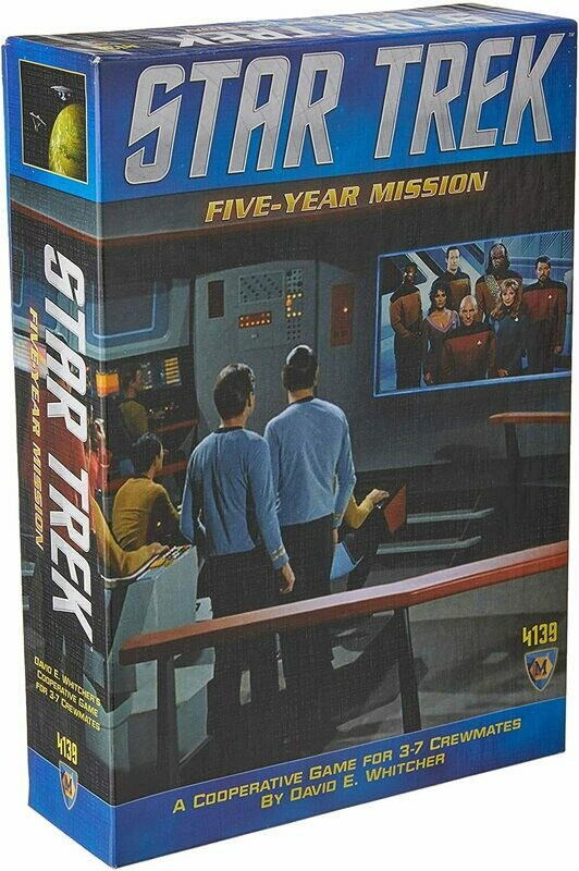 (NEW) Star Trek: Five Year Mission Board Game