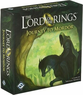 (NEW) The Lord Of The Rings: Journey To Mordor (A Game By Michael Rieneck)