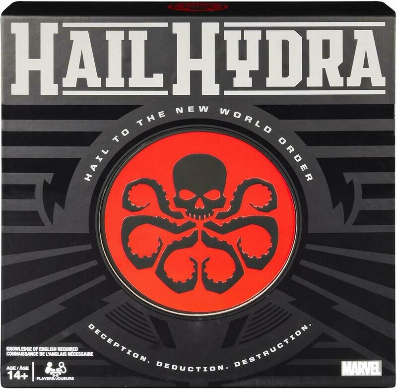(NEW) Hail Hydra: MARVEL Hero Board Game (For Teens And Adults)
