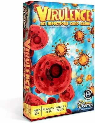(NEW) Virulence: An Infectious Card Game by Genius Games