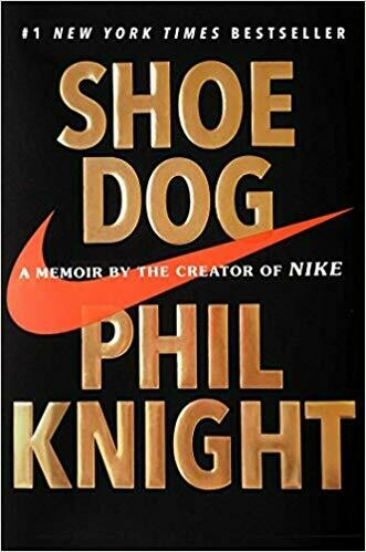 (USED) Shoe Dog: A Memoir From The Creator Of Nike (Hardcover) by Phil Knight