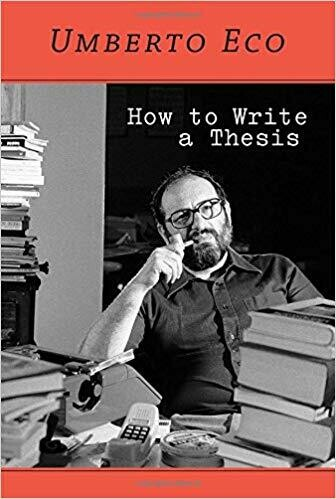 (NEW) How To Write A Thesis (Paperback) by Umberto Eco