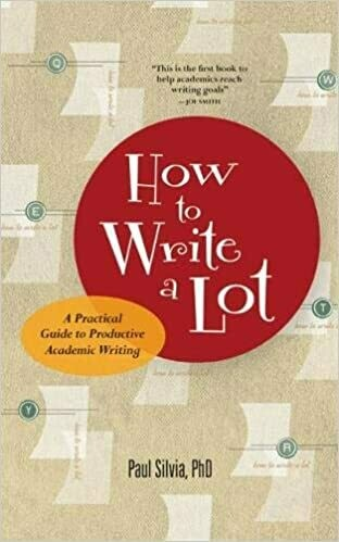 (USED) How To Write A Lot: A Practical Guide To Productive Academic Writing (Paperback) by Paul J. Silvia, PhD.