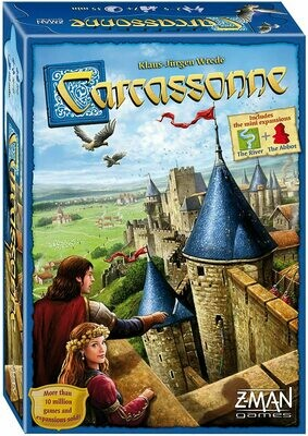 (NEW) Carcassonne Board Game by Z-Man Games