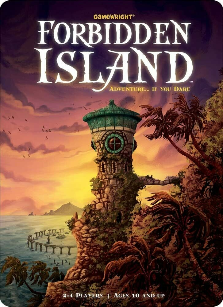 (NEW) Forbidden Island By Gamewright