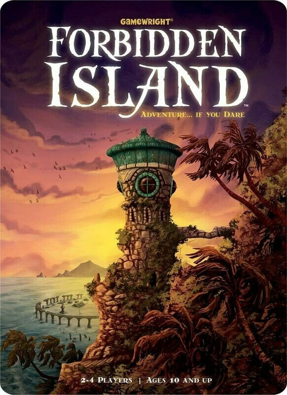 (NEW) Forbidden Island By Gamewright