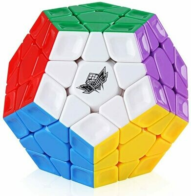 (NEW) D-FantiX Cyclone Boys 3x3 Megaminx Stickerless Speed Cube Dodecahedron Cube Puzzle