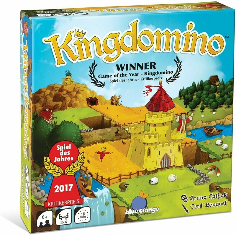 (NEW) Kingdomino Strategy Board Game by Blue Orange Games