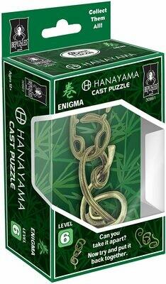 (NEW) ENIGMA Hanayama Cast Metal Brain Teaser Puzzle (Level 6)