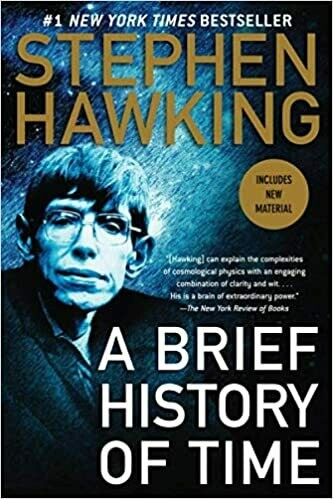 (USED) A Brief History Of Time (Paperback) by Stephen Hawking