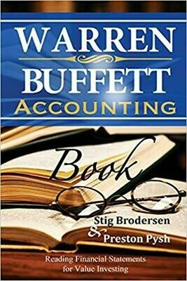 (NEW) Warren Buffett Accounting Book: Reading Financial Statements For Value Investing (Paperback) by Stig Brodersen & Preston Pysh