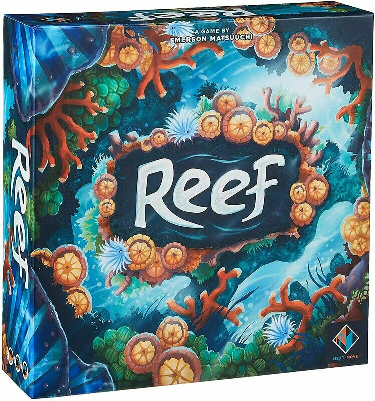 (NEW) Reef Board Game (A Game By Emerson Matsuuchi)