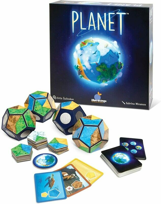 (NEW) Planet Board Game by Blue Orange Games
