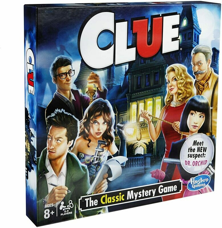 CLUE Board Game by Hasbro Gaming