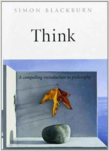 (USED) Think: A Compelling Introduction To Philosophy (Hardcover) by Simon Blackburn