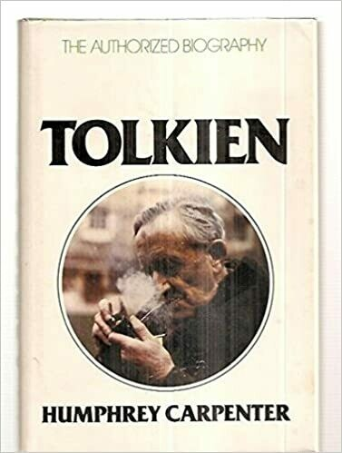 (USED) Tolkien: The Authorized Biography (Missing Jacket Cover)(Hardcover) by Carpenter, Humphrey