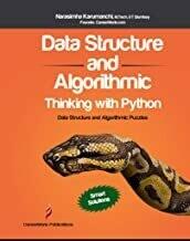(USED) Data Structure And Algorithmic Thinking With Python: Data Structure And Algorithmic Puzzles by Narasimha Karumanchi