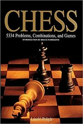 (NEW) Chess: 5334 Problems, Combinations And Games (Paperback) by László Polgár