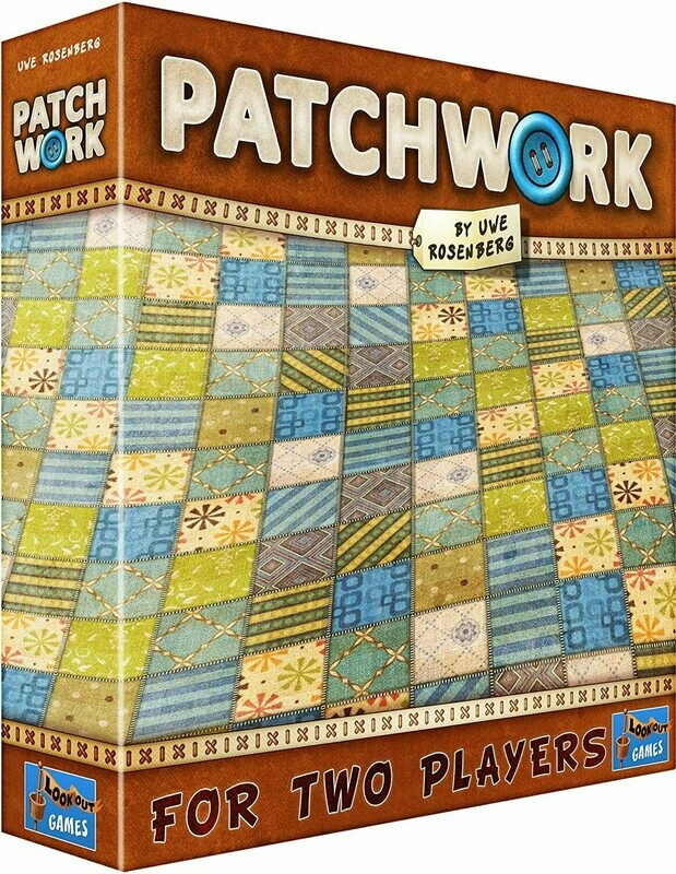 (NEW) Patchwork Game by Uwe Rosenberg