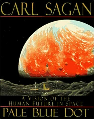 (USED) Pale Blue Dot: A Vision Of The Human Future In Space (Hardcover) by Carl Sagan