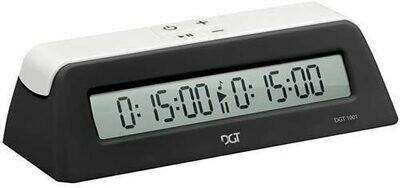 (NEW) DGT1001 Universal Chess Clock & Game Timer (Black)
