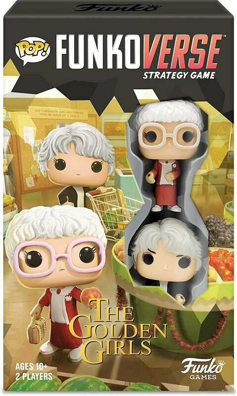 (NEW) Funko Pop! - Funkoverse Strategy Game: Golden Girls #101 - 2-Pack
