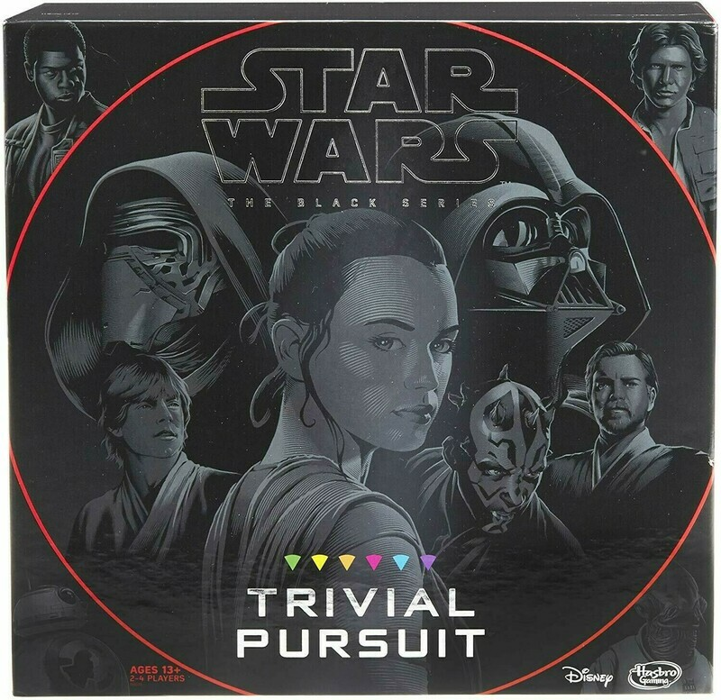(USED)(OPEN BOX) Hasbro Trivial Pursuit: Star Wars The Black Series Edition