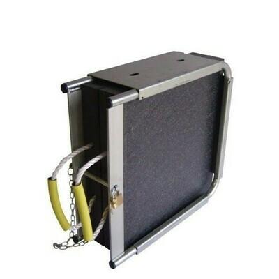 Stahlbox für 2 Abstützplatten