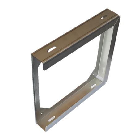 Chromstahlbox für 1 Abstützplatte