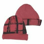Reversible Beanie Appleberry Plaid