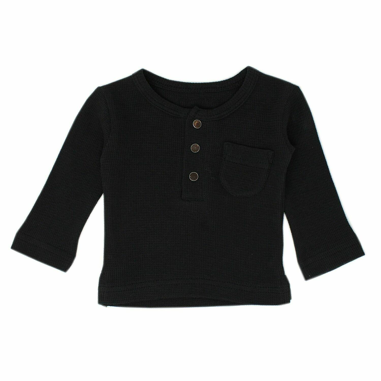 Thermal Long Sleeve Kids Black